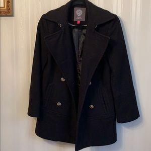 Vince camuto black wool jacket size xS